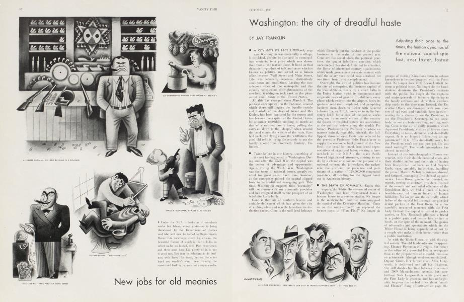 Washington: the city of dreadful haste