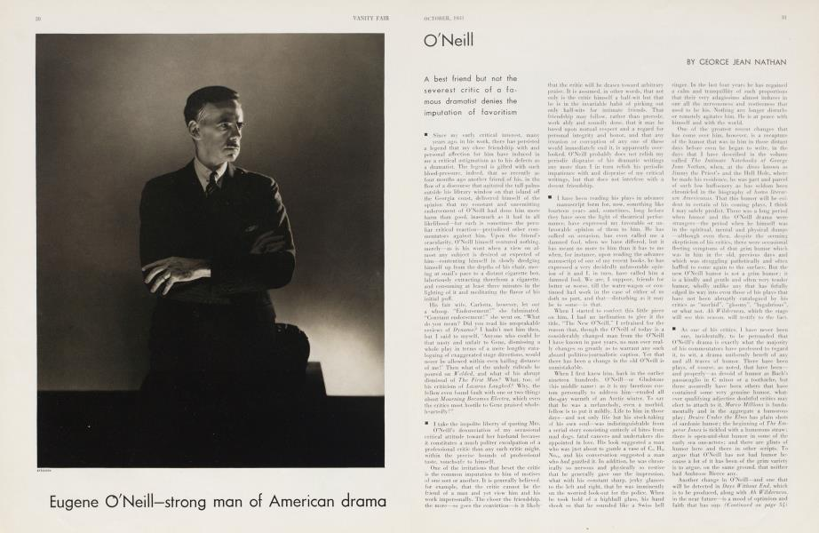 Eugene O'Neill—strong man of American drama