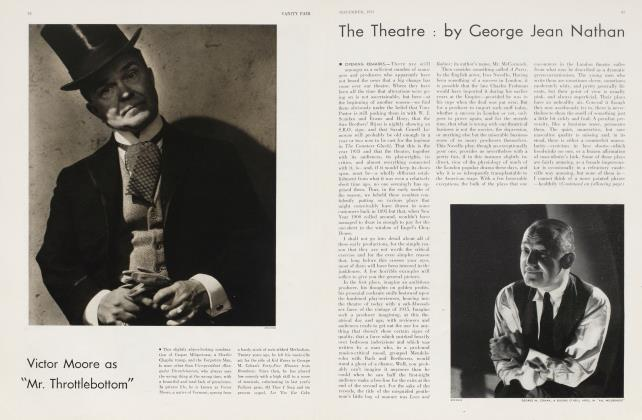 Article Preview: The Theatre, November 1933 | Vanity Fair