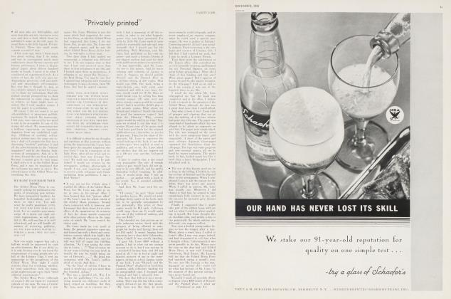 "Article Preview: ""Privately printed"", December 1933 