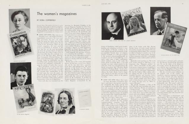 Article Preview: The women's magazines, January 1934 | Vanity Fair