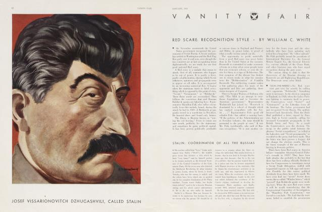Article Preview: RED SCARE: RECOGNITION STYLE, January 1934 | Vanity Fair