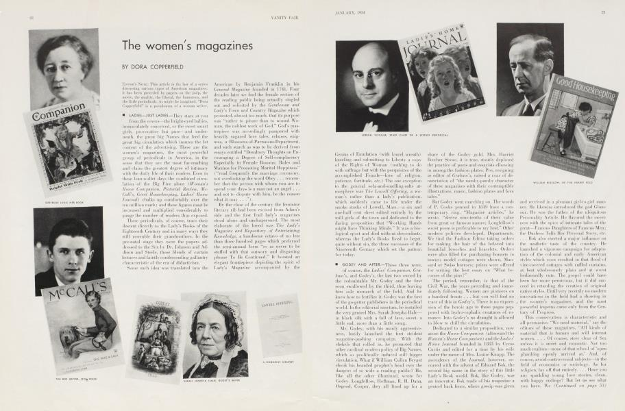 The women's magazines