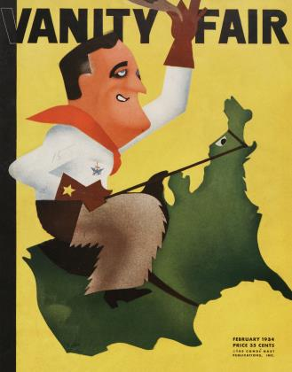Cover for the February 1934 issue