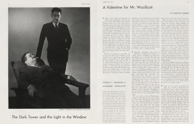 A Valentine for Mr. Woollcott