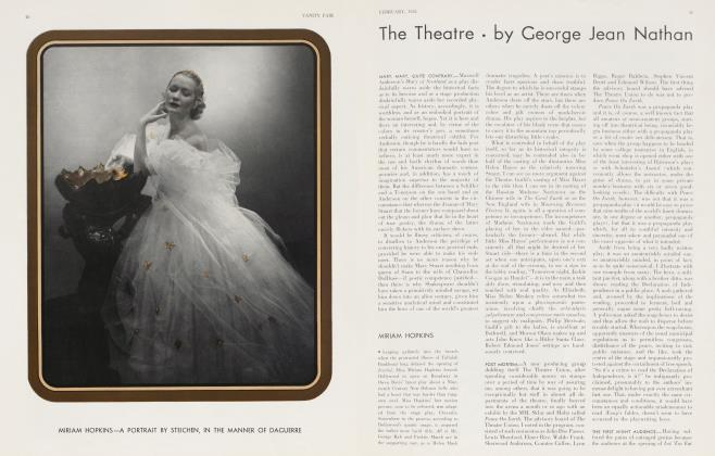 Article Preview: The Theatre, February 1934 | Vanity Fair