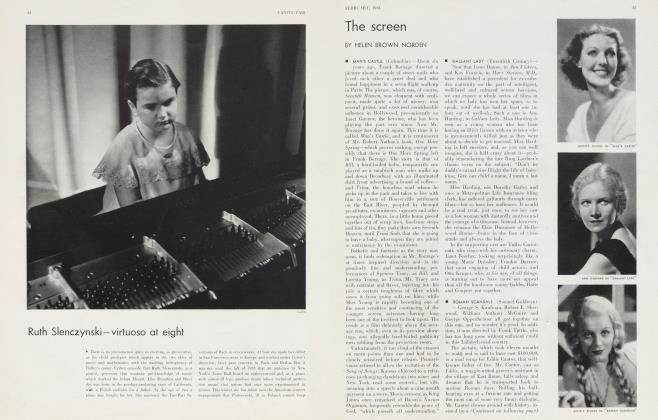 Article Preview: The screen, February 1934 1934 | Vanity Fair