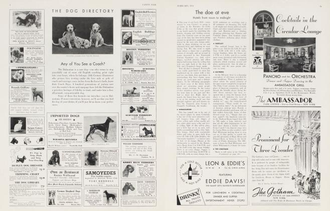 Article Preview: The doe at eve, February 1934 1934 | Vanity Fair