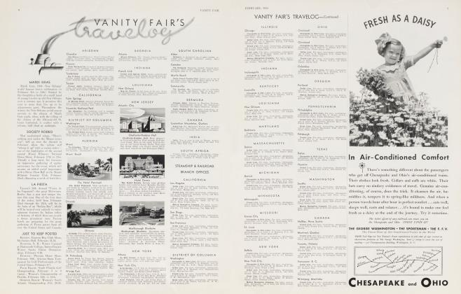 Article Preview: vanity fair's travelog, February 1934 | Vanity Fair