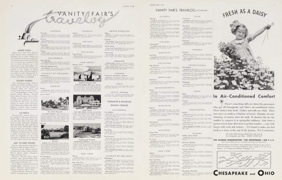vanity fair's travelog