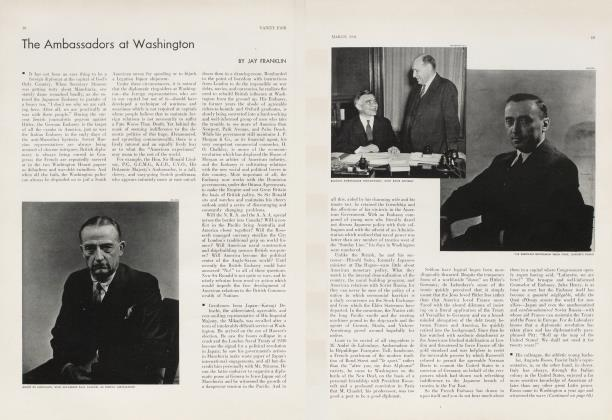 Article Preview: The Ambassadors at Washington, March 1934 | Vanity Fair