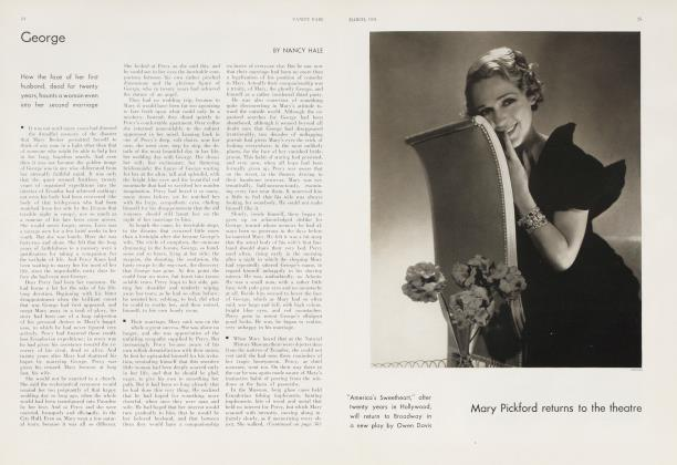 Article Preview: Mary Pickford returns to the theatre, March 1934 1934 | Vanity Fair