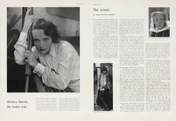Article Preview: The screen, March 1934 1934 | Vanity Fair