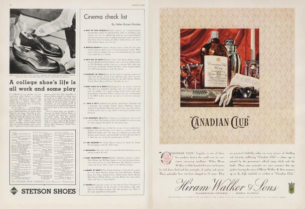 Article Preview: Cinema check list, March 1934 1934 | Vanity Fair