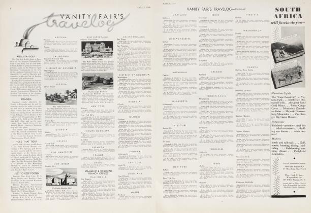 Article Preview: VANITY FAIR'S travelog, March 1934 | Vanity Fair