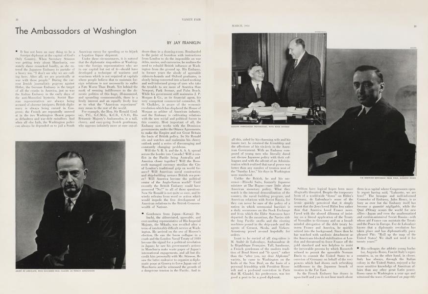 The Ambassadors at Washington