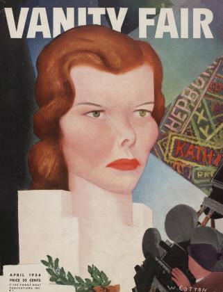 Cover for the April 1934 issue