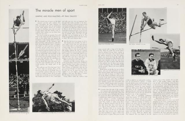 Article Preview: The miracle men of sport, May 1934 | Vanity Fair