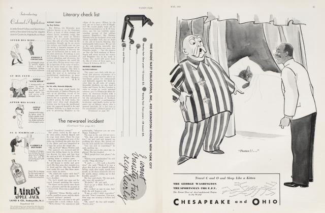 Article Preview: Literary check list, May 1934 | Vanity Fair