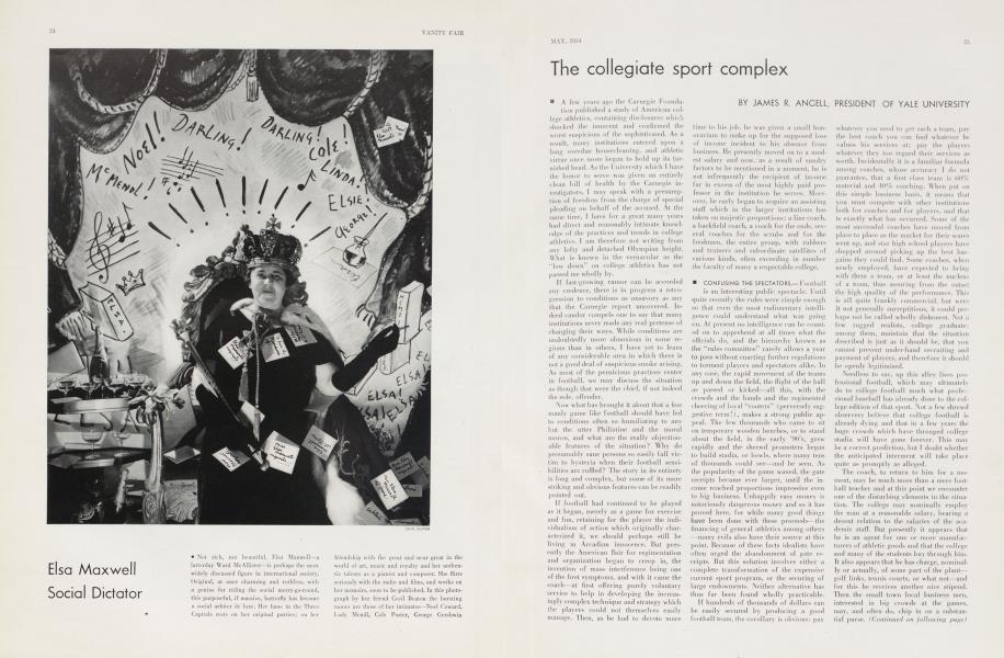 The collegiate sport complex