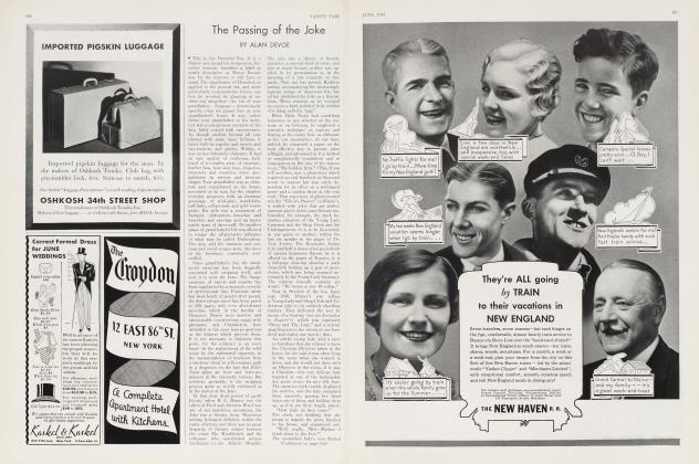 Article Preview: The Passing of the Joke, June 1934 | Vanity Fair