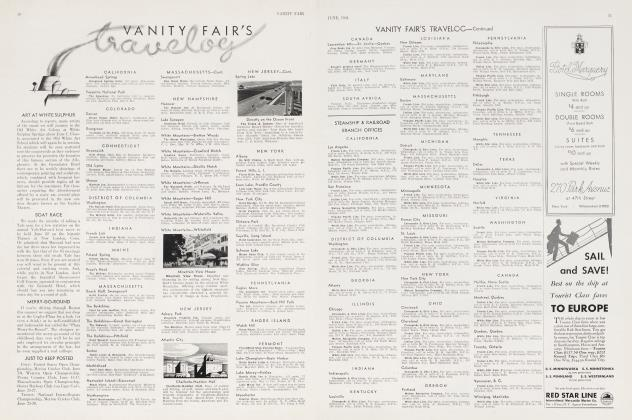 Article Preview: VANITY FAIR'S travelog, June 1934 | Vanity Fair