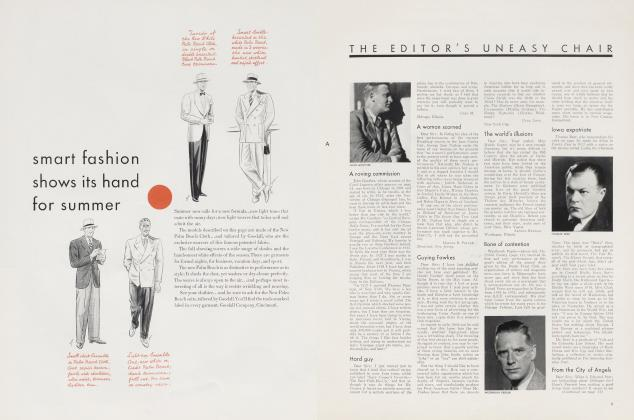 Article Preview: THE EDITOR'S UNEASY CHAIR, July 1934 | Vanity Fair