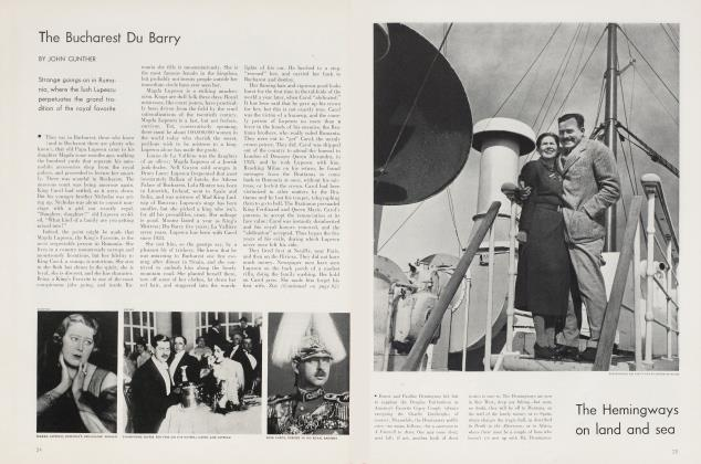 Article Preview: The Bucharest Du Barry, July 1934 | Vanity Fair