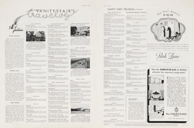 Article Preview: VANITY FAIR'S Travelog, July 1934 | Vanity Fair