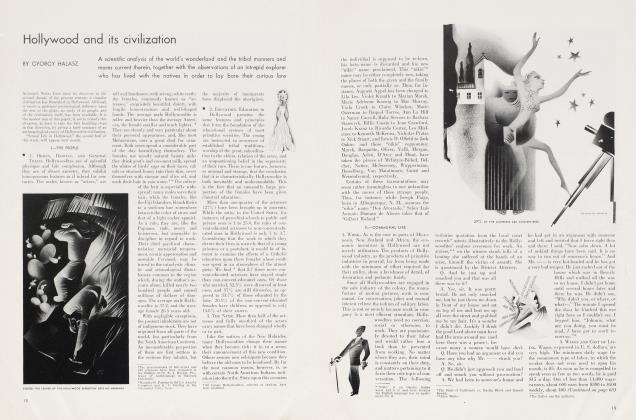 Article Preview: Hollywood and its civilization, August 1934 | Vanity Fair