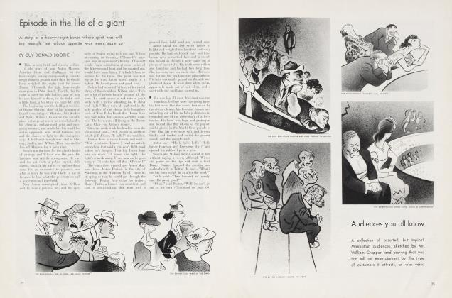 Article Preview: Episode in the life of a giant, August 1934 | Vanity Fair