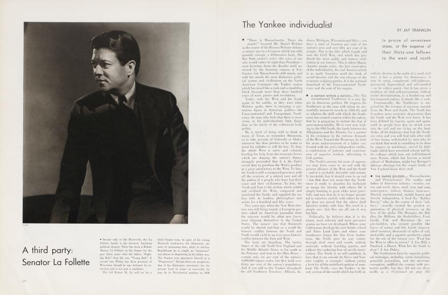 The Yankee individualist