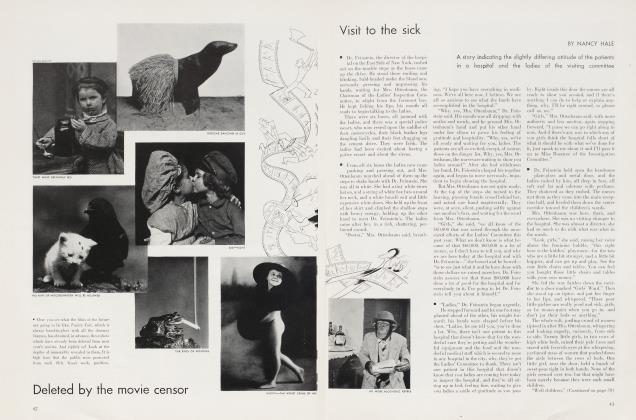 Article Preview: Visit to the sick, September 1934 | Vanity Fair