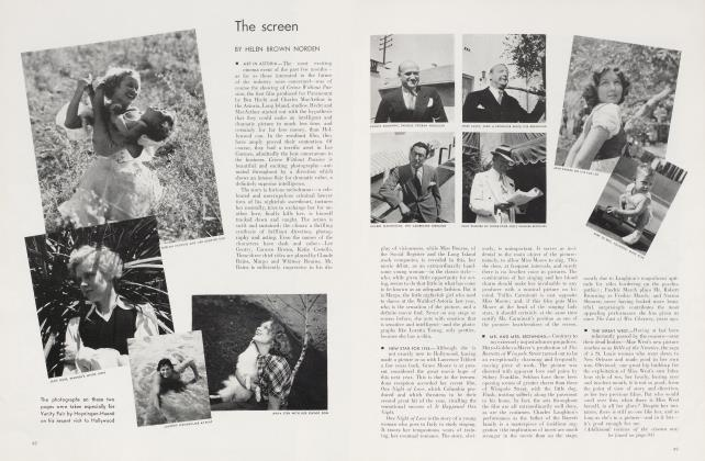 Article Preview: The screen, October 1934 1934 | Vanity Fair