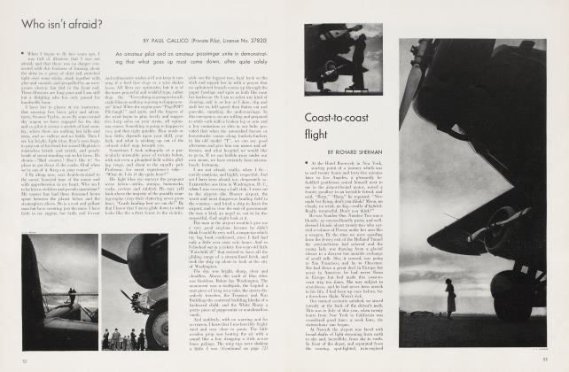 Article Preview: Coast-to-coast flight, October 1934 1934 | Vanity Fair
