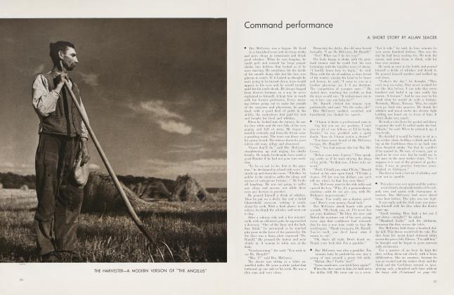Article Preview: Command performance, November 1934 | Vanity Fair