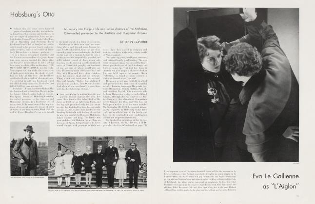 Article Preview: Habsburg's Otto, November 1934 | Vanity Fair