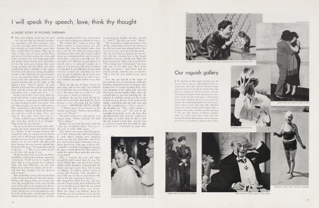 Article Preview: I will speak thy speech, love; think thy thought, November 1934 | Vanity Fair