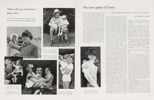 Article Preview: The new game of Towie, November 1934 | Vanity Fair