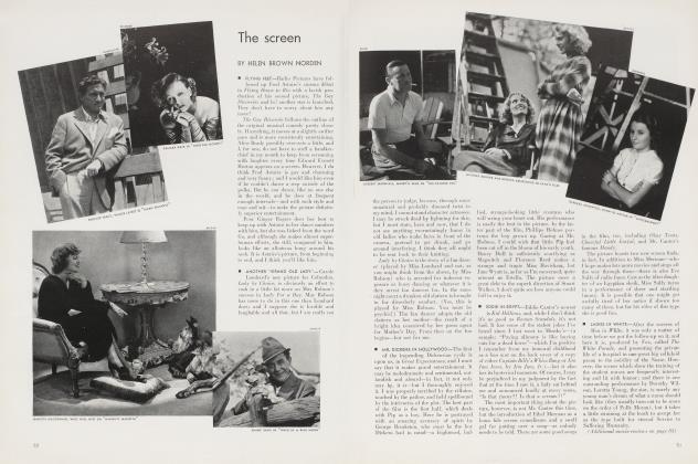 Article Preview: The screen, December 1934 1934   Vanity Fair