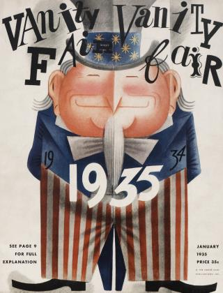 Cover for the January 1935 issue