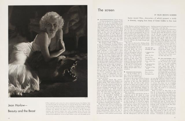 Article Preview: The screen, January 1935 | Vanity Fair