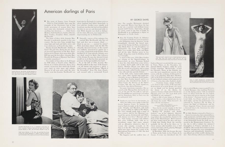 American darlings of Paris