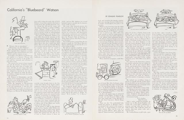 "Article Preview: California's ""Bluebeard"" Watson, March 1935 
