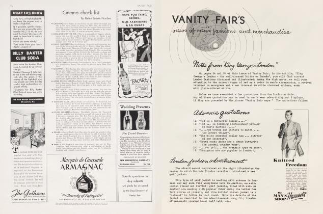 Article Preview: Cinema check list, April 1935 1935 | Vanity Fair