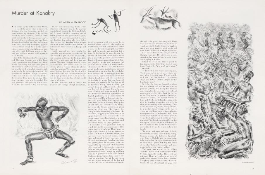 Murder at Konakry