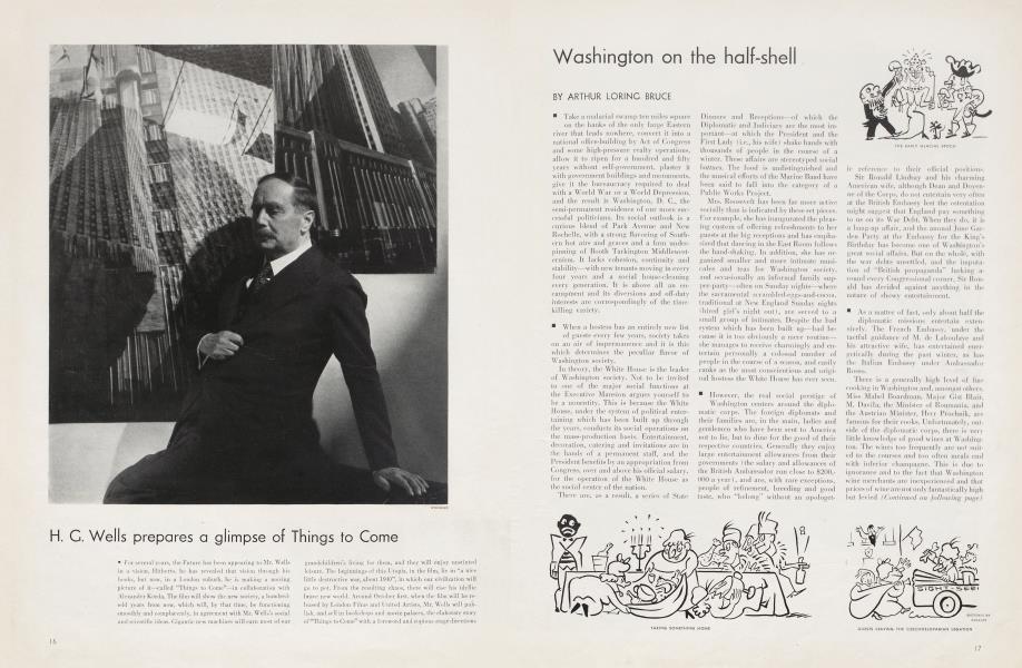 Washington on the half-shell