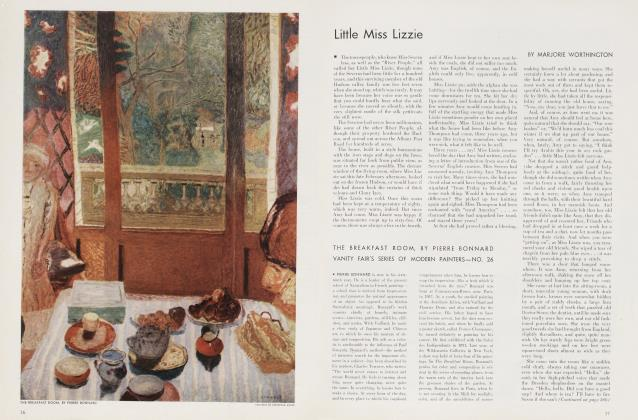 Article Preview: Little Miss Lizzie, July 1935 | Vanity Fair