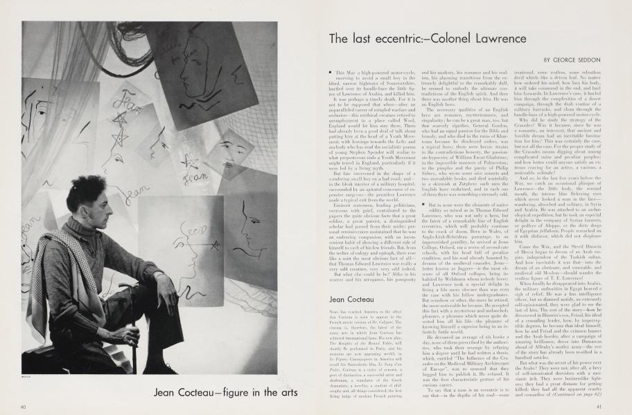 The last eccentric:-Colonel Lawrence