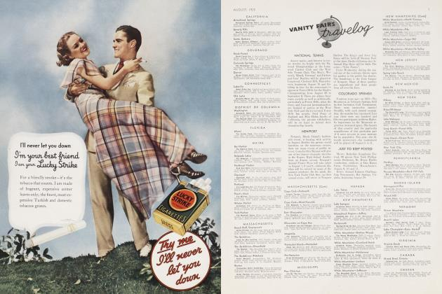 Article Preview: VANITY FAIR'S TRAVELOG, August 1935 | Vanity Fair